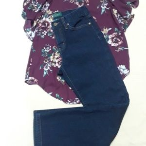 LRL Lauren Jeans by Ralph Lauren 4P